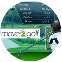 edwin koene golf putten puttmeester golfles sharpshot move2golf trackman